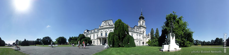 Festetics Palace - Keszthely, Ungaria - Panorama foto (imagine panoramica)