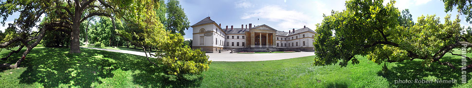Festetics Palace - Dég, Hungary - Panorama photo (panoramic image)