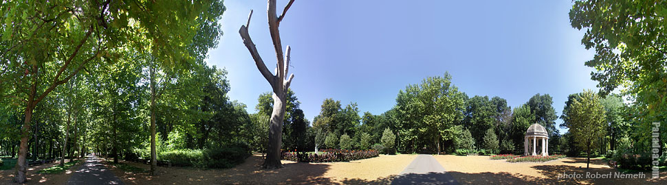 Helikon Park - Keszthely, Hungary - Panorama photo (panoramic image)