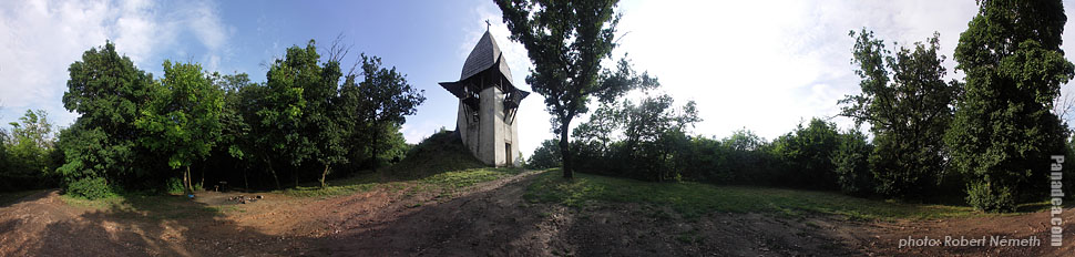 Somlyó Hill, Szent László lookout tower - Mogyoród, Hungary - Panorama photo (panoramic image)