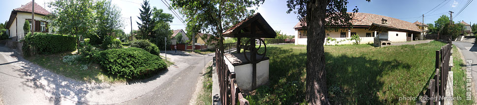 Village house - Mogyoród, Hungary - Panorama photo (panoramic image)