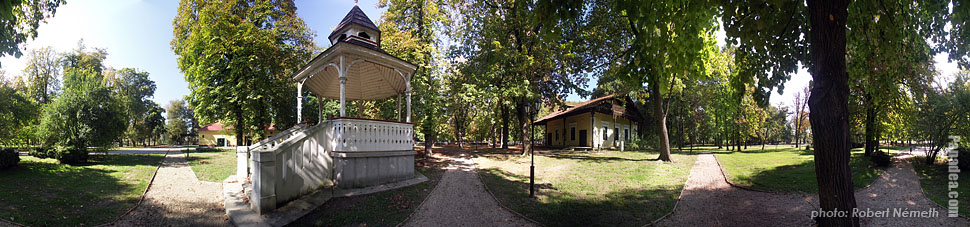 Cifra Garden - Nagykőrös, Hungary - Panorama photo (panoramic image)