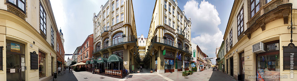 Hotel Palatinus - Pécs, Hungary - Panorama photo (panoramic image)