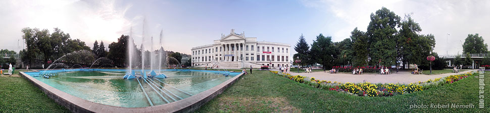 Roosevelt Square - Szeged, Hungary - Panorama photo (panoramic image)